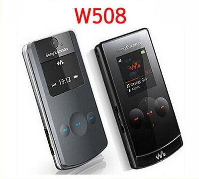 Sony Ericsson W508i Walkman Flip Fold GSM Stylish(Unlocked)-Black Mobile Phone