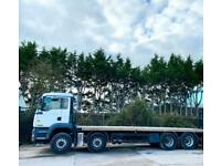 2006 MAN TGA 32,350 FLATBED MANUAL GEARS 8X4 DOUBLE DIFF STRONG 32 TON 1 OWNER