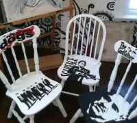 Get your old chairs upcycled