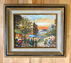 Original Vintage Oil Painting Art - SIGNED by R YOUNG