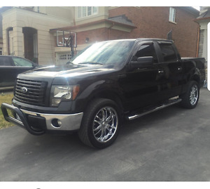 Black 2012 F150 XTR with FX4 package