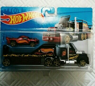 HOT WHEELS CREW CARRIER CAR HAULER DIECAST 2018