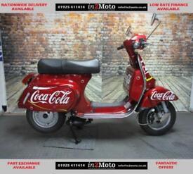LML STAR 125cc 2017 LITE COCA COLA VERY LOW MILEAGE