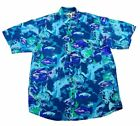 Animal Print Hawaiian Casual Shirts for Men