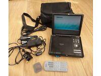 """Toshiba SD-P1700 Portable DVD Player with 7"""" Display"""