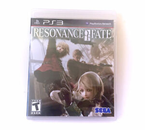 PS3 Resonance of Fate Video Game Playstation 3 COMPLETE Insert