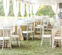 Gorgeous Event Chairs & Tables