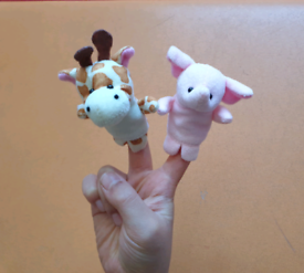 ♧ 19 animal finger puppets
