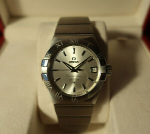 Omega Constellation co-axial automatic 38mm watch (w/ warranty)
