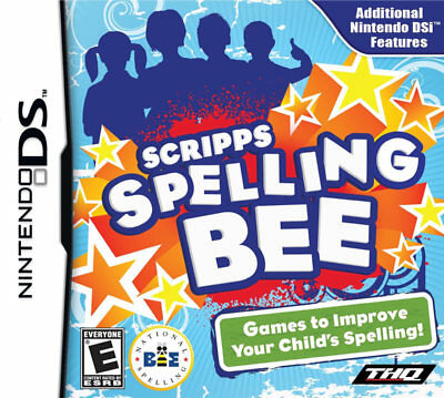 THQ Scripps Spelling Bee Nds Nintendo Ds