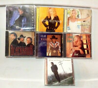 Country Cd's