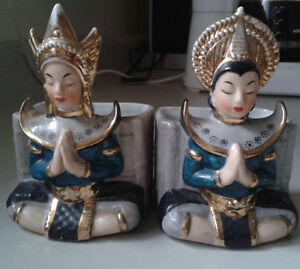 L'Amour China Japanese Handpainted Temple Goddess