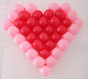 Wedding Decoration Heart-Shaped Balloon Modeling Grid