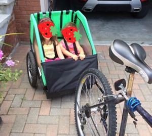 Bike trailer / chariot for two
