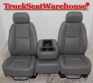 Chevy Truck Front Seats with Console Silverado Sierra Chev