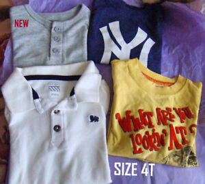 Assorted Boys Clothing  4T