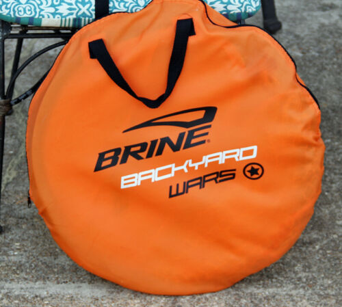 Brine Lacrosse Back Yard Wars Goal 4 x 4 with Carrying Bag