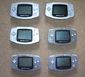 ***  4 WORKING GAME BOY ADVANCE CONSOLES