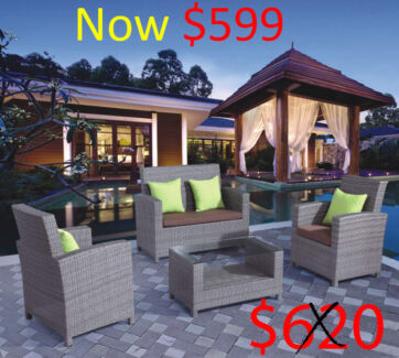 Various Brand New Rattan Wicker Outdoor Setting Furniutre Melbourne CBD Melbourne City Preview