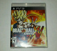 DBZ Xenoverse for PS3