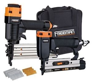 Freeman pppbrck Pinner and Brad Nailer Kit With Carry Bag
