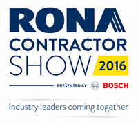 Hostesse for the Rona Contractor Show