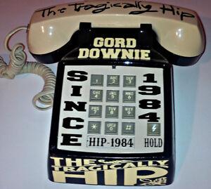 VINTAGE CUSTOM 1 OF A KIND THE TRAGICALLY HIP PUSH BUTTON PHONE