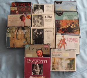 Opera and Classical Music Collection  (Not in Clearwater County)