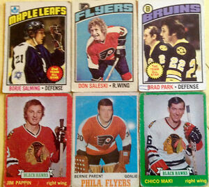 CARTE HOCKEY LOT DE 6