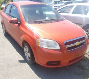 2009 Chevrolet Aveo Sedan LS Automatic