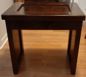 Low Price!! Solid Sturdy Wood Bench/Table