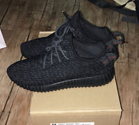 Yeezy Boost 350 Pirate Black US Size 11 Mens