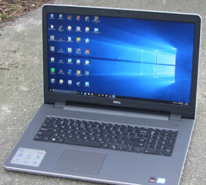 "17.3"" Touchscreen Dell Laptop with Windows 10 & MS Office"