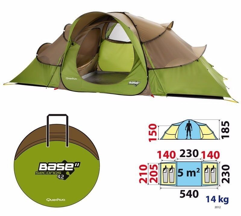Quechua 4.2 second pop up family tent  sc 1 st  Gumtree & Quechua 4.2 second pop up family tent | in Ashford Kent | Gumtree