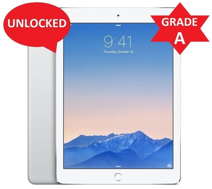 Apple iPad Air 1st Gen 32GB, Wi-Fi + 4G AT&T(Unlocked), 9.7in - SILVER (R)