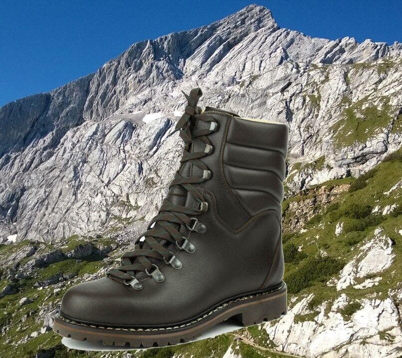 Hochschaft-Lederschuh Berg-Wanderschuh Bergwanderstiefel Jagdschuh Waldschuh zwi