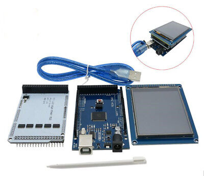 3.2 Lcd Touch 3.2 Inch Shield Mega 2560 R3 With Usb Cable For Arduino Kit