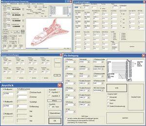 CNC Schrittmotor Steuerung Software ( Gravier Maschine Laser )