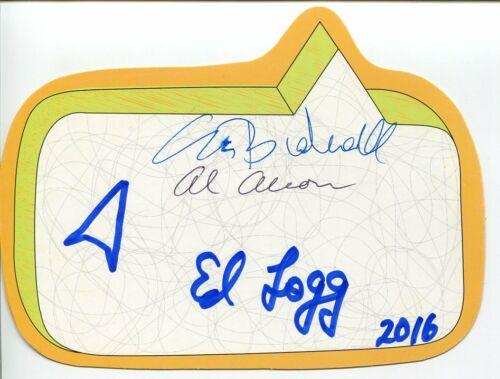 Nolan Bushnell Allan Alcorn Ed Logg Atari Video Game Creator Signed Autograph