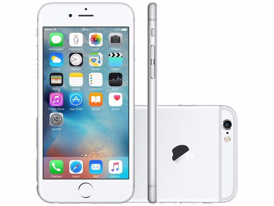 Apple iPhone 6s plus, Silver 128GB - EE/Virgin - Buy In Confidence From An Apple Retailer!