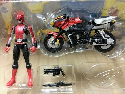 Power rangers - Go-Busters MBAF Red Buster Cheeda Nick transformable set