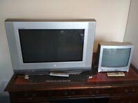 "28"" LG, 25"" Toshiba & 14"" Toshiba CRT TV's"