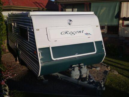 2005 Regent Cruiser SE 16FT pop top Caravan - Regretful Sale Broadmeadow Newcastle Area Preview