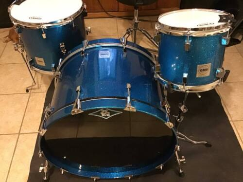 GMS DRUMS Shell pack-Blue Sparkle Nesting KIt