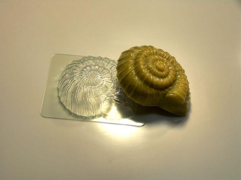 """Shell 15"" plastic soap mold soap making mold mould"