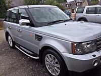 2008 RANGE ROVER 2.7 SPORT 4X4 AUTO 1 YEARS M.O.T THIS WEEK
