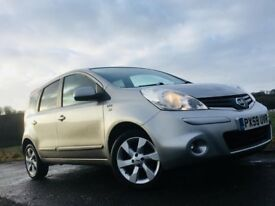 Nissan Note N-tec 1.4 with SAT NAV - FSH - long Mot - excellent condition/ Ford Focus size boot