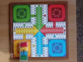 Parcheesi and Game of the Goose 4 players (chips included)