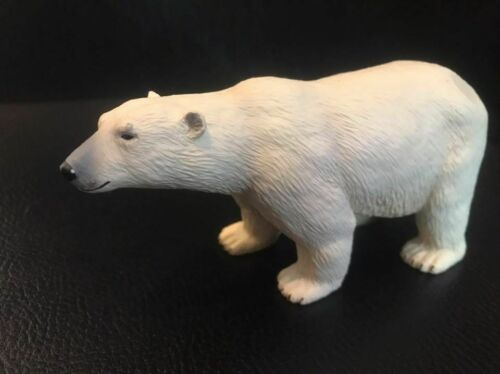 Ravensburger Polar Bear White Bear PVC figurine figure model RARE