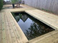 Fencing (New and Repairs), Decking, Artificial Grass & Landscaping needs we won't be beat on Price